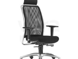 Cadeiras giratória em tela
